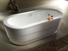 CLASSIC DUO OVAL bath by KALDEWEI